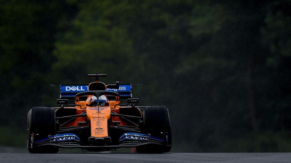 Foto: Carlos Sainz y su McLaren en Hungría. (EFE)