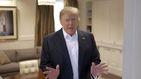 Trump ya no presenta síntomas de covid-19, tras su vuelta a la Casa Blanca