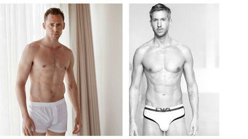 Guerra en calzoncillos: Hiddleston le roba la novia a Calvin ¿y el trabajo?