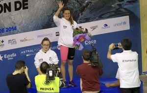 Mireia cierra los nacionales con seis oros y otro récord Mundial