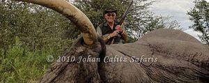 Foto: Kayali, el amigo saudí del Rey que pagó la cacería de Botsuana