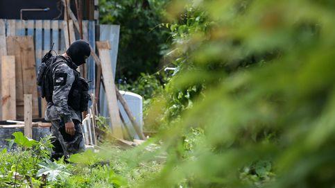 Policía en la favela 'Cidade de Deus'