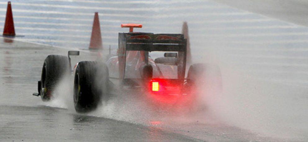 """Foto: """"Si eres capaz de pilotar sobre mojado, eres capaz de cualquier cosa"""""""