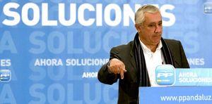 """Foto: Javier Arenas: """"Chaves saldrá de la política antes de que acabe esta legislatura"""""""