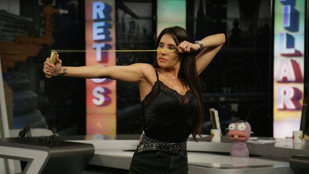 La encerrona de Pablo Motos a Pilar Rubio en su reto en 'El hormiguero'