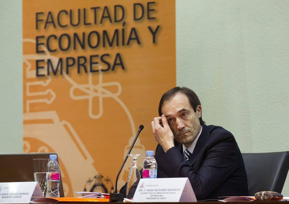 Foto: El presidente de Liberbank, Manuel Menéndez. (EFE)