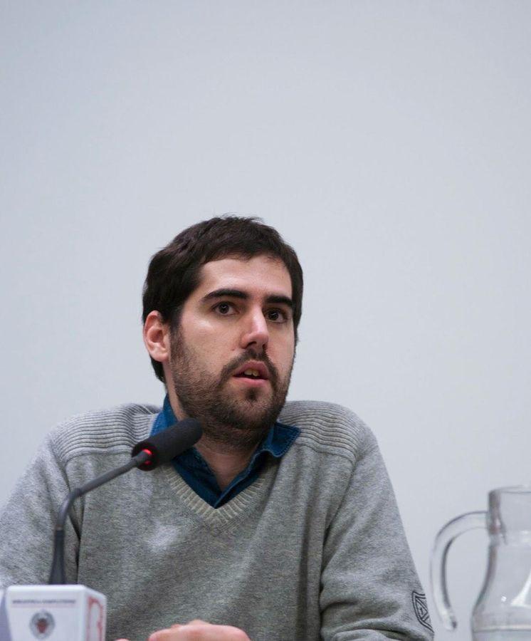 Foto: El escritor del ensayo 'La Guerra Civil como moda literaria', David Becerra Mayor (Foto de Bernd Kolter)