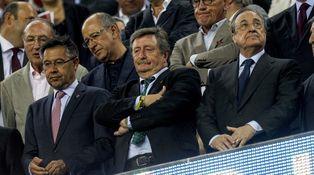 Florentino y los árbitros (de los que nunca habla): ¡Así, así, así no gana el Madrid!