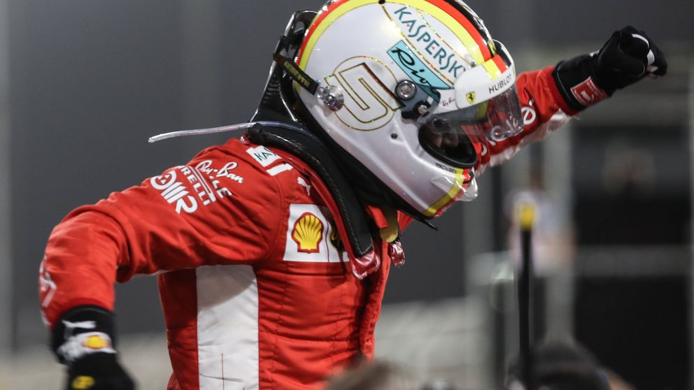 GP de Bahrein de F1: Vettel gana apurado y Alonso acaba séptimo (tras Honda)