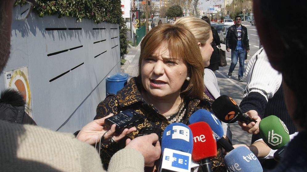 Foto: Isabel Bonig, presidenta del PP en la Comunidad de Valencia