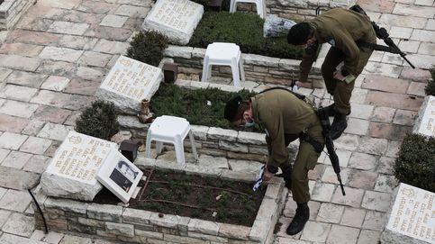 Preparativos antes del día conmemorativo de Israel