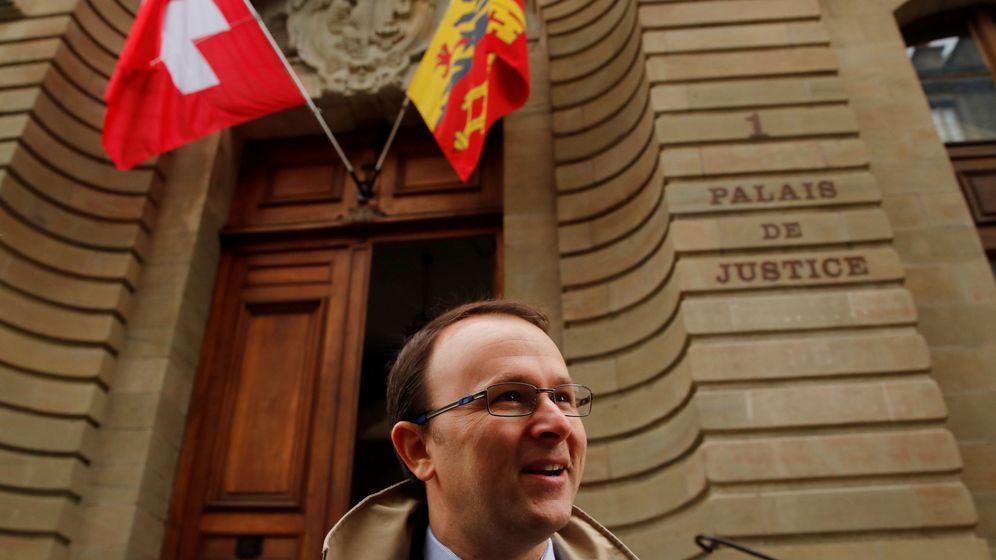 Foto: Yves Bertossa, el fiscal suizo que investiga las cuentas del rey emérito. (Reuters)