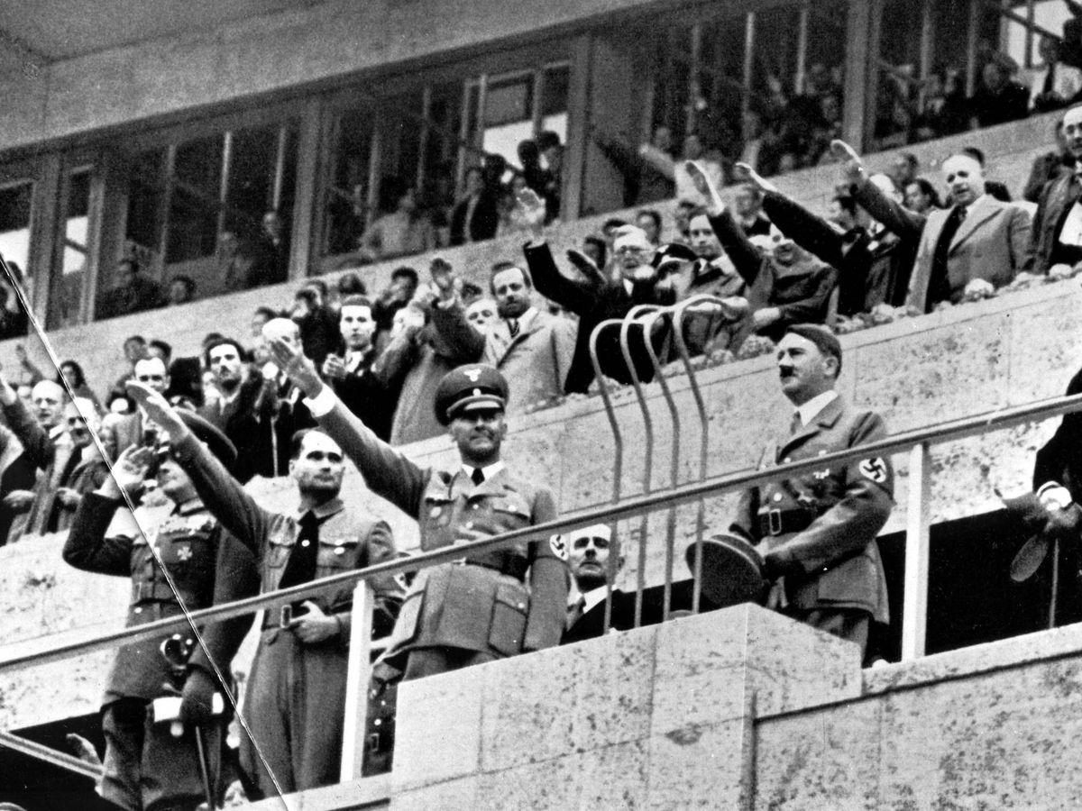 Foto: Hitler, en los Juegos Olímpicos de Berlín 1936 (Imago, foto de archivo)