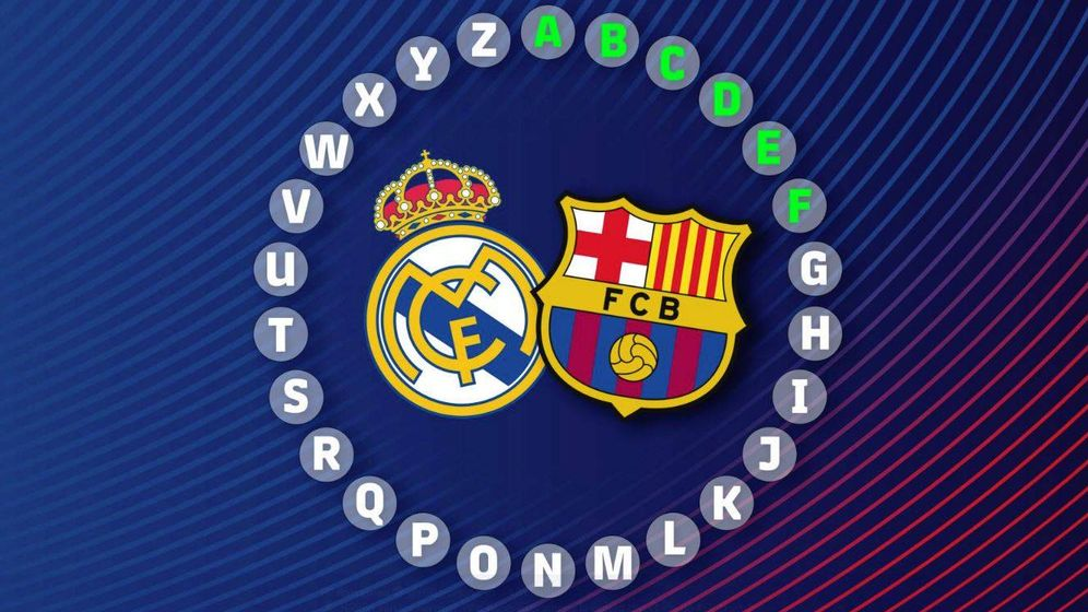Foto: Rosco de Pasapalabra del Madrid-Barcelona (Foto: FC Barcelona)