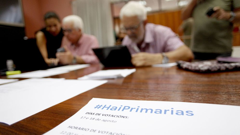 Foto:  Las primarias abiertas para elegir las listas de En Marea. (EFE)