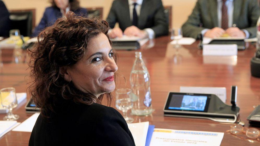 Foto: La ministra de Hacienda, María Jesús Montero
