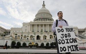 Washington: funcionarios cabreados, parques vallados y congresistas a la gresca