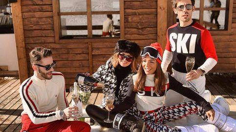 Avalancha de influencers: postureo, looks de infarto y un poco de esquí