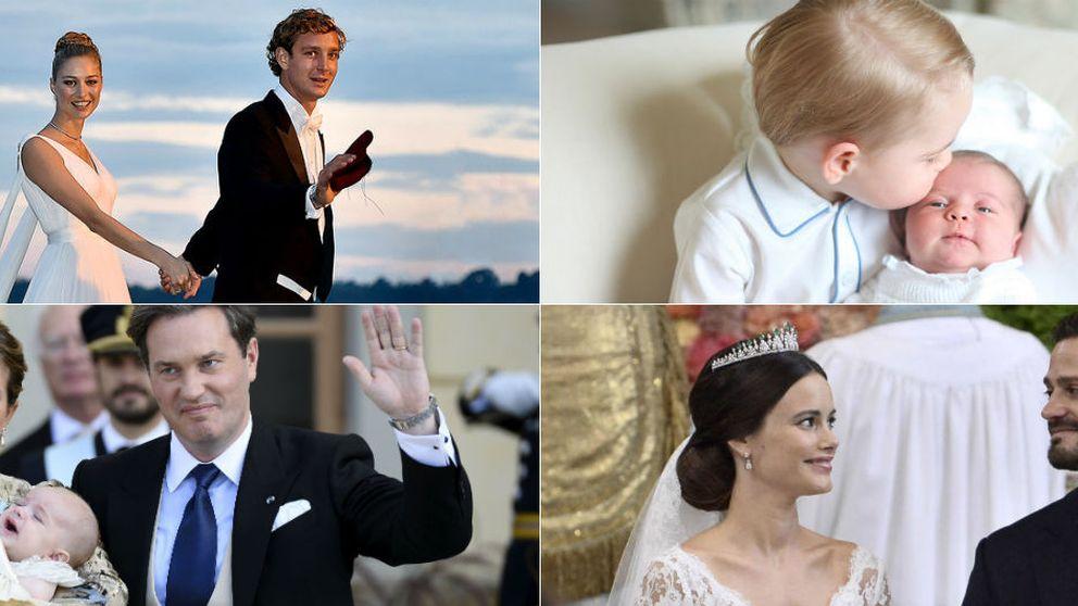 De la boda de Carlos Felipe y Sofía al nacimiento de Charlotte: las claves del 2015