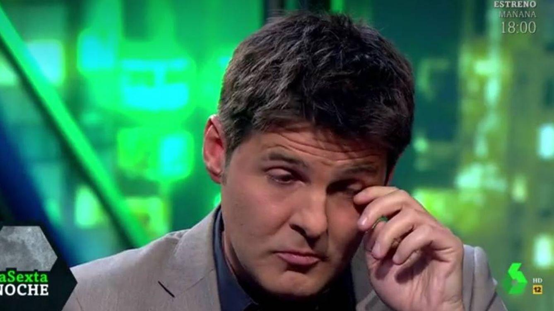 Jesús Cintora se rompe en 'La Sexta noche' tras recordar su episodio más trágico