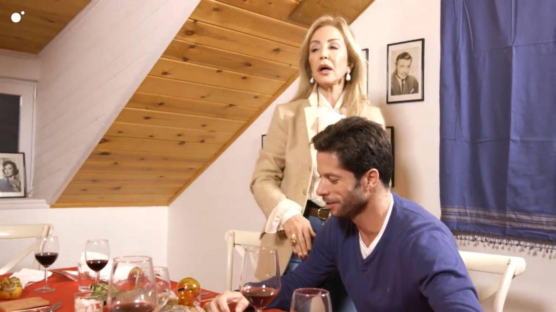 Carmen Lomana y Canales Rivera, en 'Ven a cenar conmigo: Gourmet Edition'. (Cuatro)