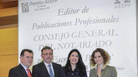 Premio para Escritura Pública, la revista profesional de los notarios