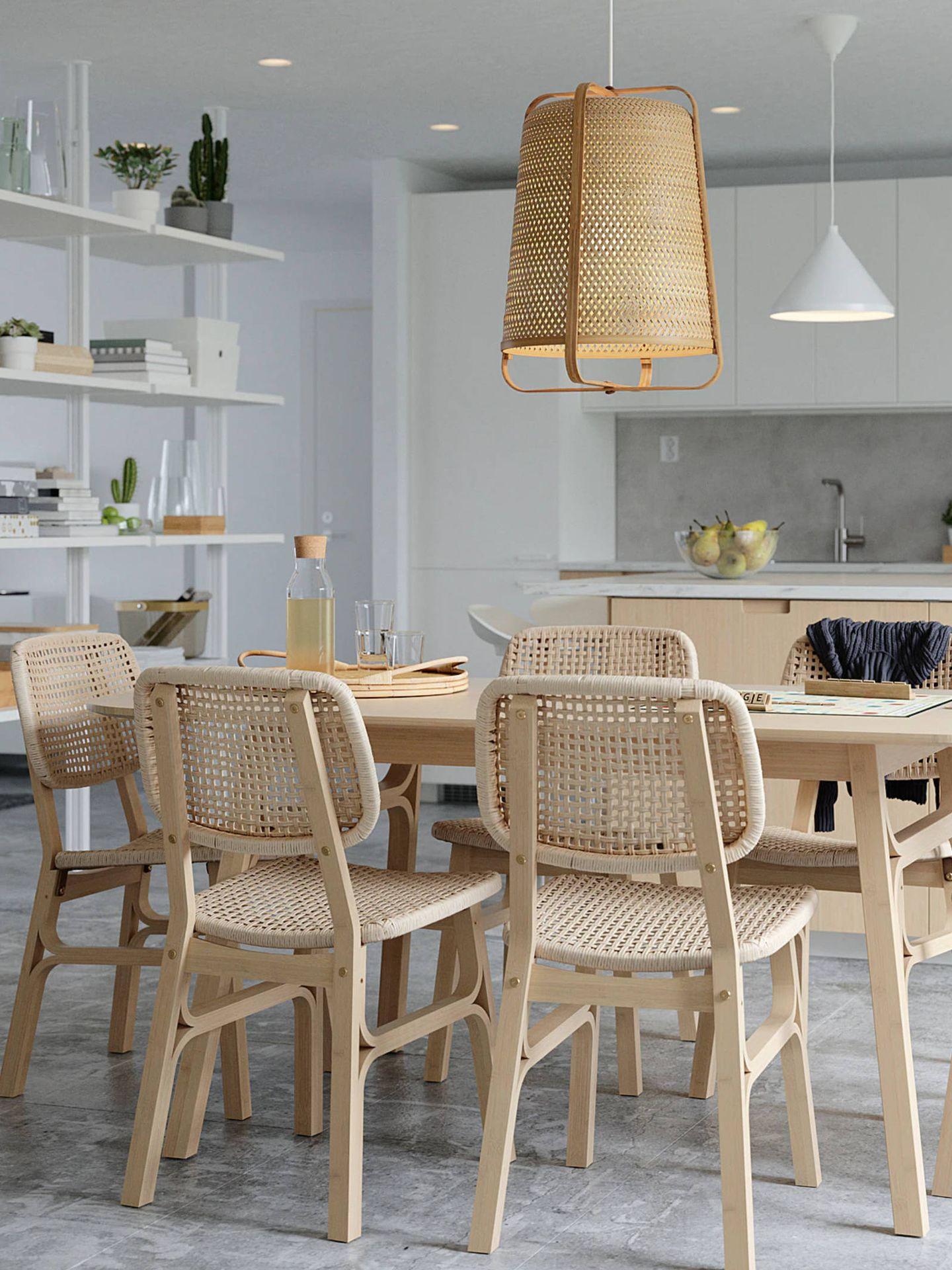 La nueva silla de Ikea para un comedor sostenible. (Cortesía)