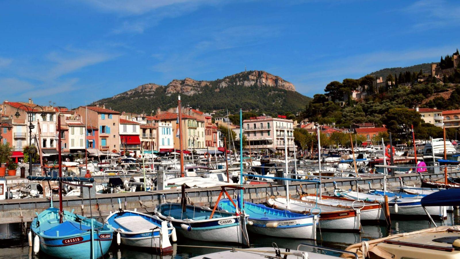 Foto: Cassis tiene todo el encanto francés de la Riviera. (Foto: Mateo Esteban)