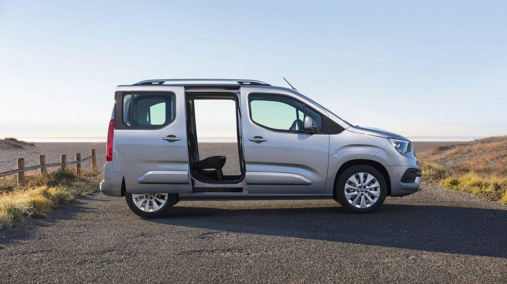 Foto: Este es el Opel Combo Life, último modelo llegado a la factoría de Vigo y al que se unirá el nuevo Toyota a finales de 2019.