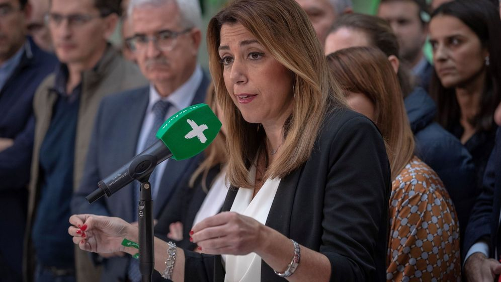 Foto: La presidenta andaluza en funciones, Susana Díaz. (EFE)