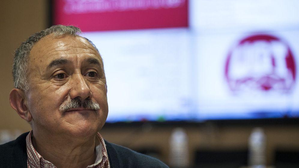 Foto: Josep Maria Álvarez, nuevo secretario general de UGT. (EFE)