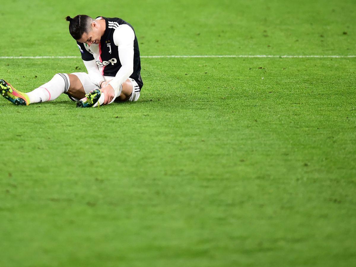 Foto: Juventus - Inter, el último partido de Cristiano Ronaldo. (Reuters)