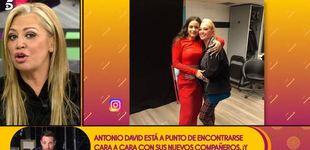 Post de Belén Esteban relata en 'Sálvame' cómo conoció a Rosalía: