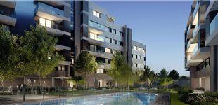 Post de Así son las nuevas viviendas con terraza, piscina y pista de pádel en Sanchinarro