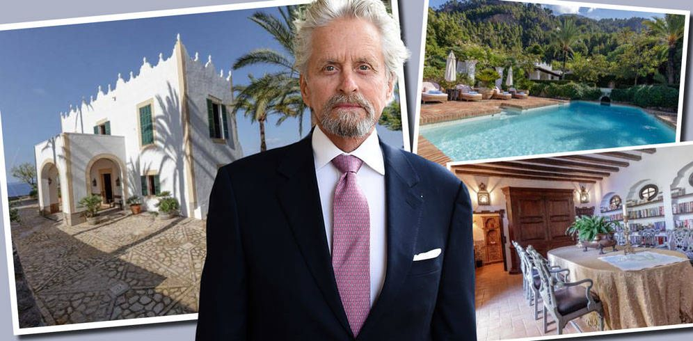 casas de famosos el pelotazo de momento frustrado de michael douglas en mallorca noticias de. Black Bedroom Furniture Sets. Home Design Ideas