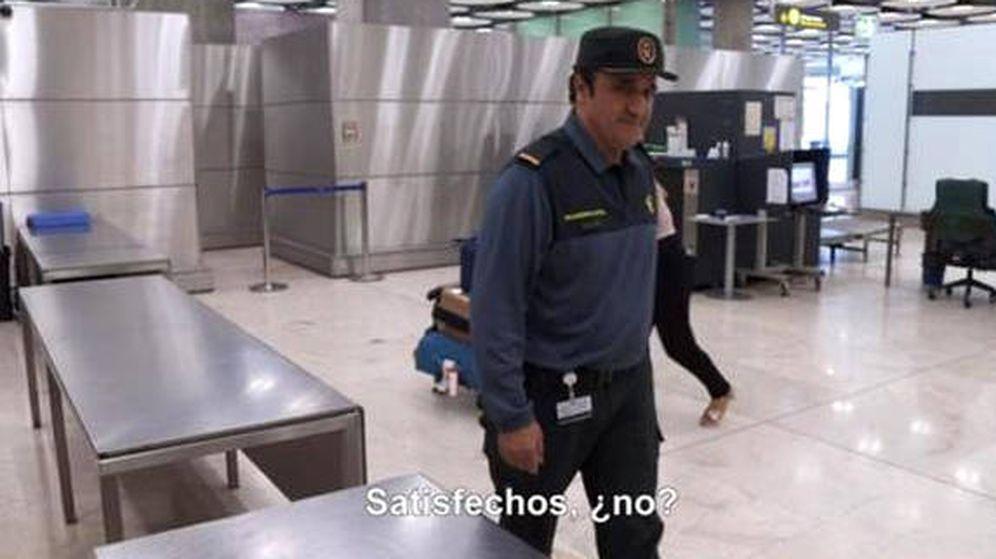 Foto: El guardia civil, durante una de las emisiones de Control de Fronteras (Foto: Discovery Max)
