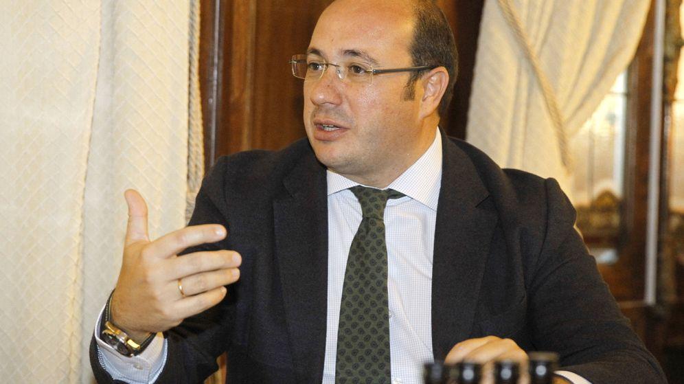Foto: El presidente de Murcia, Pedro Antonio Sánchez (Efe).