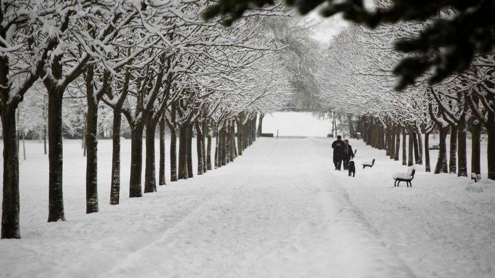 Remite el temporal que cubre de nieve el norte del país