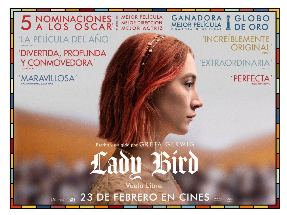 Foto: Cartel de la película Lady Bird