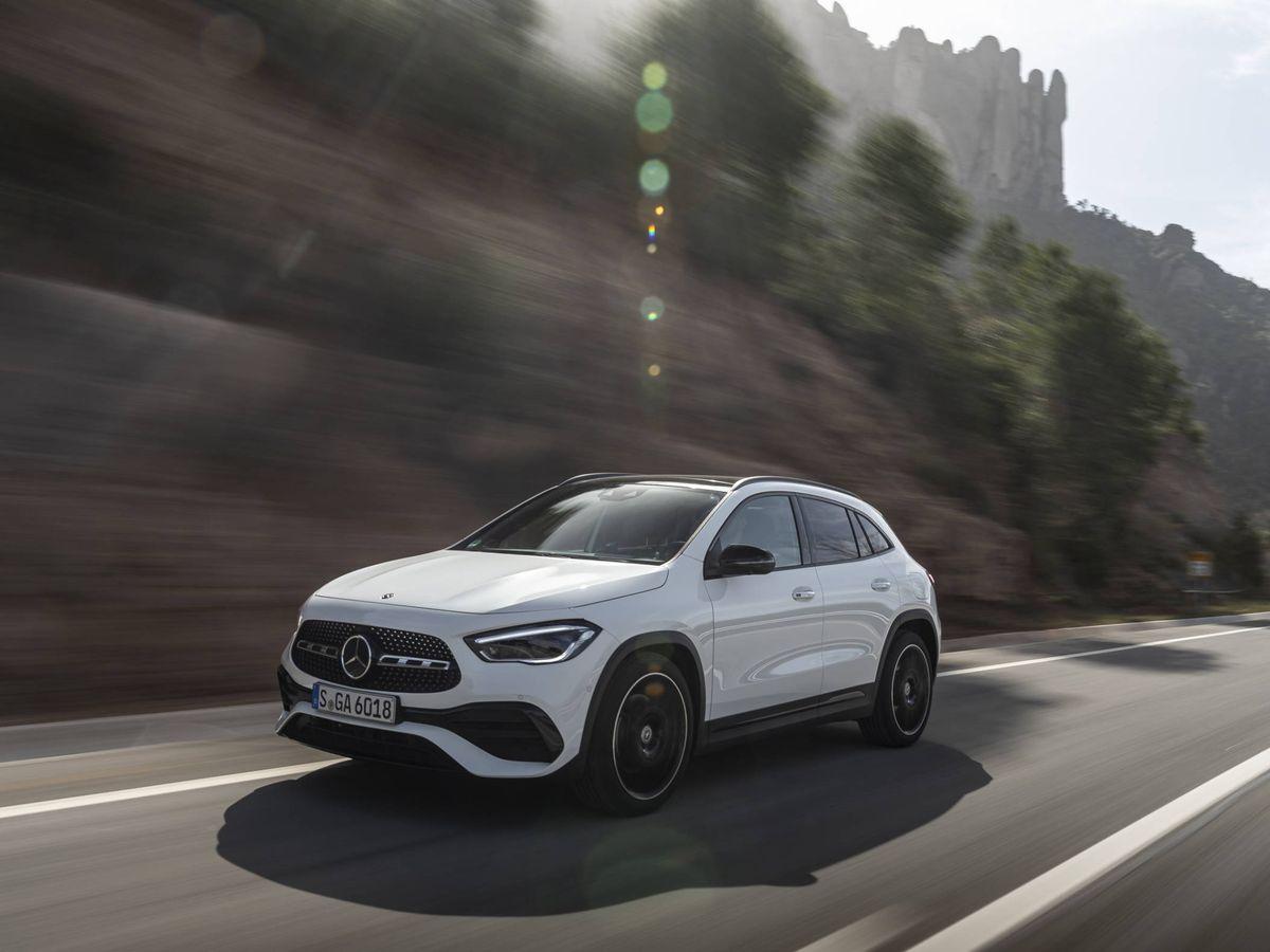 Foto: El nuevo Mercedes GLA ya esta disponible para pedidos en España a través de internet.