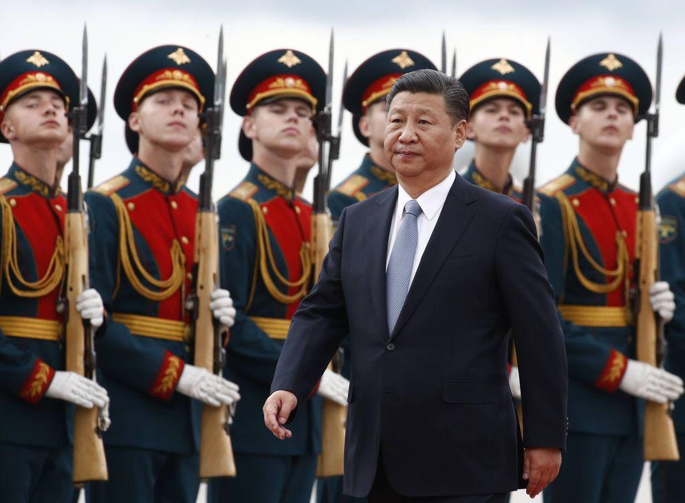 Foto: El presidente chino Xi Jinping a su llegada al aeropuerto Vnukovo de Moscú para una visita de Estado. (Reuters)