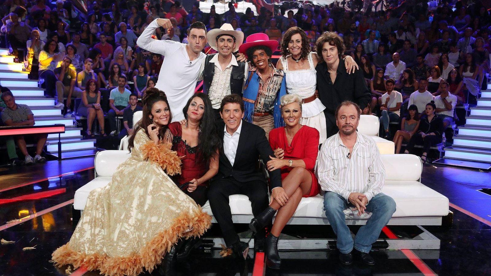 Foto: Concursantes de la quinta edición de 'Tu cara me suena' (José Irún)