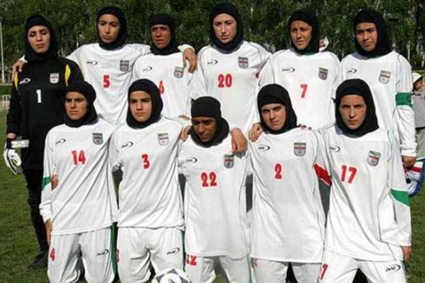 Foto: Prueba de agudeza visual: traten de encontrar hombres en la selección de Irán.