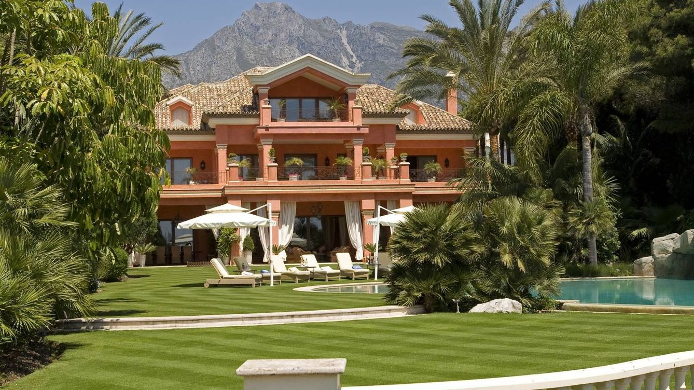 Casas de lujo la casa m s cara de espa a est en marbella for Las mejores fachadas de las villas
