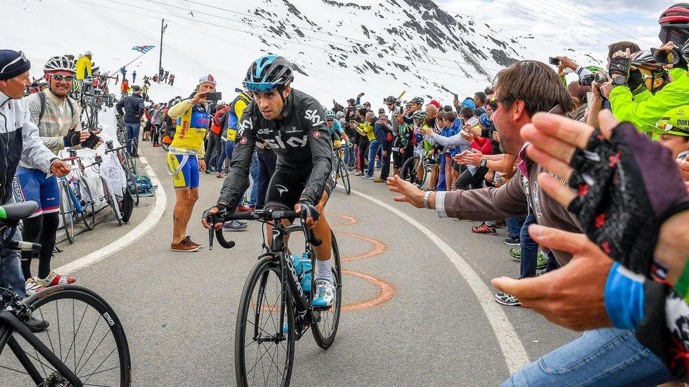 Foto: Mikel Landa, en el Giro. (EFE)