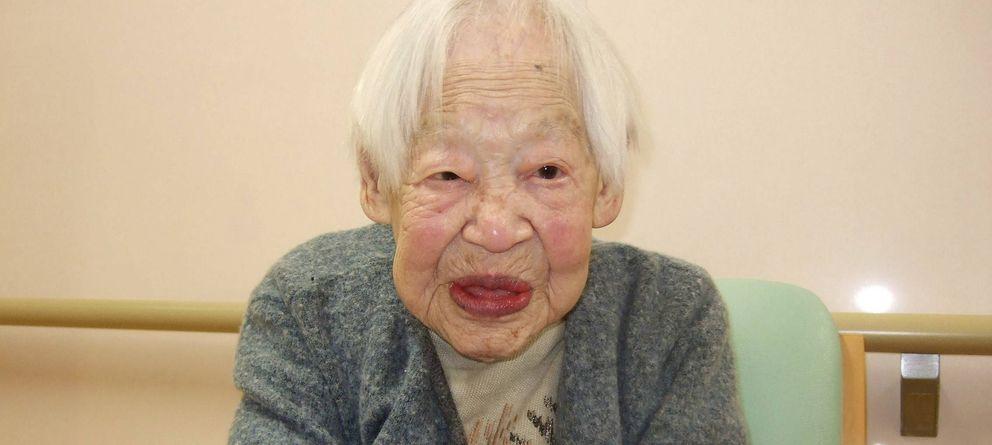 Foto: Misao Okawa es, a sus 116 años, la mujer más anciana del mundo. (Efe)