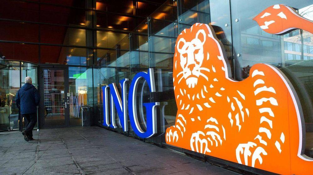 Foto: ING, cuya sede aparece en la foto, explica que esta medida ha sido difícil de tomar