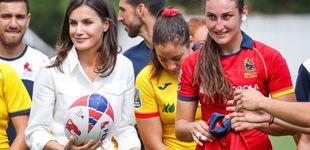 Post de La sorpresa de la 'periodista' Letizia a las Leonas y su conocimiento del rugby
