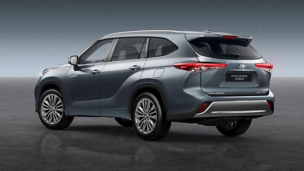 Foto: El nuevo buque insignia de Toyota será el Highlander, un todocamino de 7 plazas.