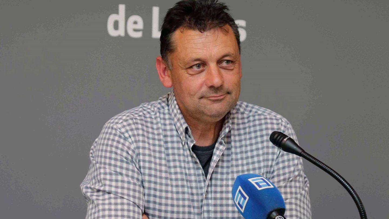 El concejal de IU en Llanes Javier Ardines. (EFE)